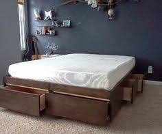 Free Twin Size Platform Bed Plans by Ana White Plans Build A Brookstone Twin Storage Bed Like This