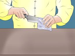 how to use a knife sharpener 11 steps with pictures wikihow