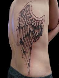 tattoo angel wings on neck 3d angel wing tattoo on body side with angel wing tattoos great