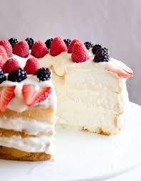 light berry angel food cake 15 minute dessert