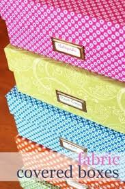 decorative fabric storage boxes foter