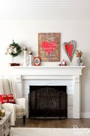 valentine u0027s day mantel decorations and ideas landeelu com