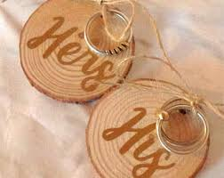 Wedding Ring Holder by Rustic Ring Holder Etsy