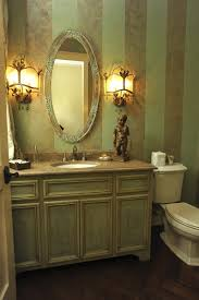 Bathroom Vanity Mirror And Light Ideas by Lighting Ideas Classic Wall Sconces With Wallpaper And Oval