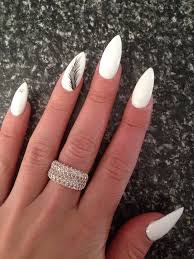 the 25 best white almond nails ideas on pinterest nails
