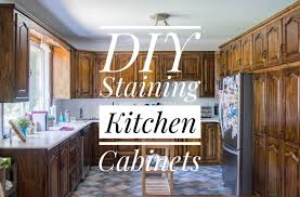 how to clean oak cabinets before staining diy staining oak cabinets eclectic spark