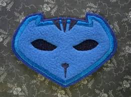 pj mask halloween costumes iron on patch pj masks catboy emblem logo for t shirt