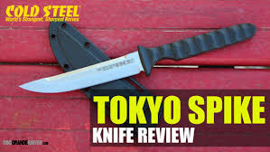 cold steel tokyo spike neck knife sharpened for the slaughter