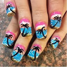 palm tree nail designs google search nails pinterest palm