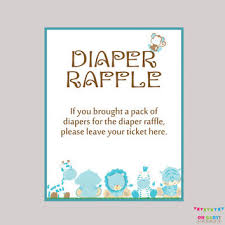 raffle baby shower best baby raffle cards products on wanelo