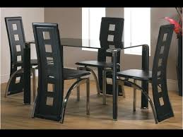 glass dining room table sets glass dining table sets 6 shopping uk