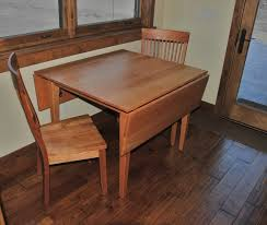 Wood Drop Leaf Table Solid Cherry