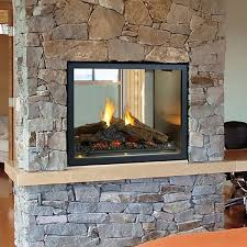 Fireplace Insert Screen by Statuette Of Double Sided Gas Fireplace Warmer Unique Room