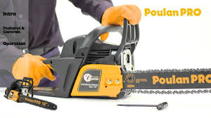 poulan pro chainsaw maintenance youtube