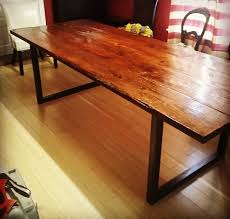 Redwood Dining Table Timber Forge Woodworks Custom Order Tables