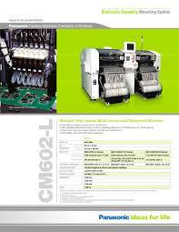 panasonic cm602 panasonic factory automation company pdf