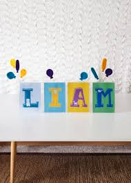 Nursery Decor Diy Nursery Decor Diy How To Make One With The Baby S Name