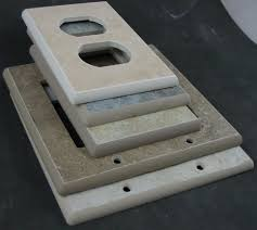 Travertine Switch Plates by Ceramic Switchplates Switch Plate And Outlet Covers
