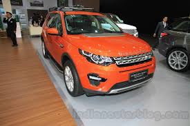 land rover discovery sport red land rover to offer petrol powered models in indian lineup