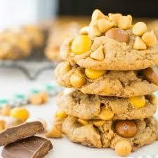 brown butterscotch toffee cookies a bajillian recipes