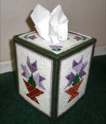 plastic canvas tissue box cover beautiful tissue box cover