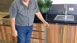 stainless steel cabinets for outdoor kitchens perth youtube