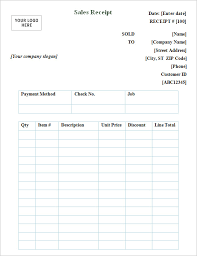 point of sale receipt template 7 general receipt templates free samples examples format