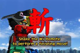 amazon power rangers samurai nintendo wii namco bandai