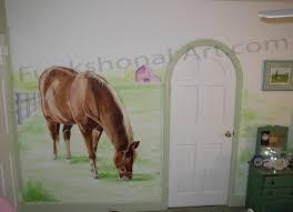 Horse Murals by Funkshonalart Com Kids Murals