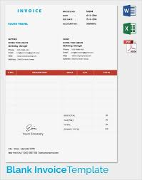 travel invoice 11 travel invoice free sample example format
