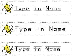 printable name tags free bumblebee name tags for desk editable printable by mrs