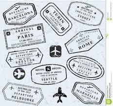 travel symbols images Travel vector stock vector illustration of italy barcelona jpg