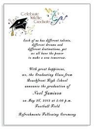 graduation announcement exles grad invite templates free printable graduation invitations