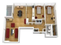 simple house floor plans 3d plan for modern triplex 3 click on house floor plans 3d