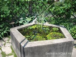 Backyard Pond Ideas With Waterfall Triyae Com U003d Raised Garden Pond Ideas Various Design Inspiration
