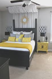 Gray And Yellow Home Decor Bedroom Fresh Yellow White And Gray Bedroom Home Design Great