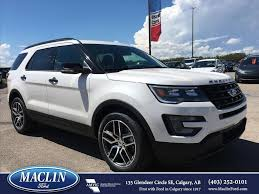 new ford explorer for sale calgary maclin ford