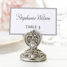 jeweled place card holders set of 4 unique place card holders