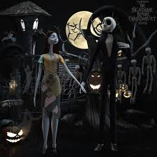 ave the nightmare before set sally 3d model max obj mtl