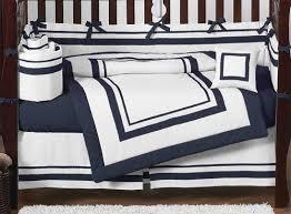 graceful bedroom hotel wh nv crib skirt navy blue bedding set