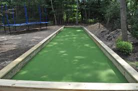 custom bocce ball court built by gappsi on long island deck and