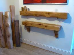 oak beam shelf floating fireplace lintel mantel floating
