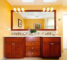 Bathroom Vanity With Makeup Table by Vanities Built In Bathroom Vanities Makeup Make Up Vanity Built