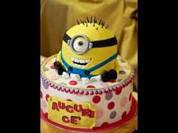 Minion Cake Decorations The 25 Best Minion Cake Tutorial Ideas On Pinterest Fondant