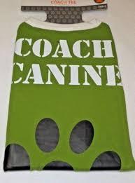 Target Dog Halloween Costume Target Pet Dog Football Coach Canine Tee Shirt Halloween Costume