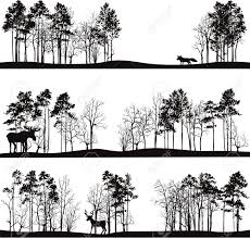 pine tree outline tree silhouettes clip art vector clip art