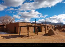 Adobe Homes by Taos Pueblo Adobe House Kiva Architecture Plans 4609