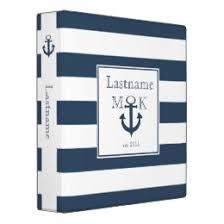 nautical photo album nautical photo album custom binders zazzle