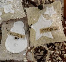modern design burlap decorations best 25 ornaments ideas