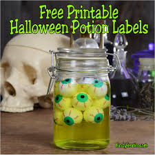 halloween jar labels 10 sites to get free printable halloween potion labels everyday